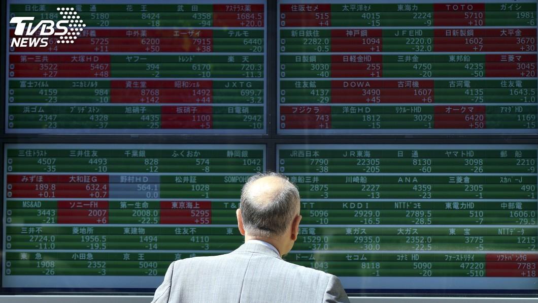 示意圖/達志影像美聯社 土耳其風暴波及 日股創4個多月最大跌幅