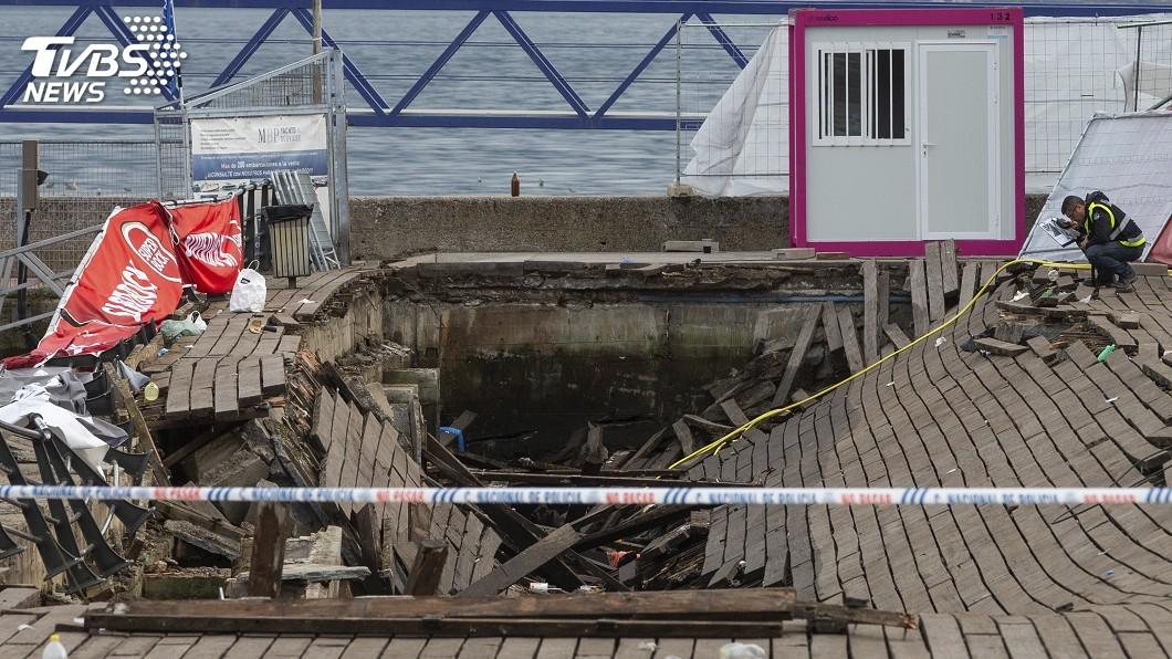 圖/達志影像美聯社 歌手嗨喊「跳起來」 西班牙音樂節看台塌陷377傷