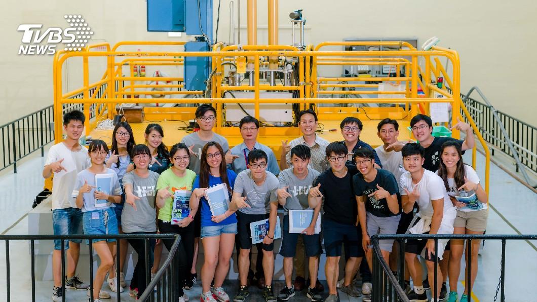 圖/中央社(清華大學提供) 清華低碳綠能營 兩岸三地學子交流核工能源