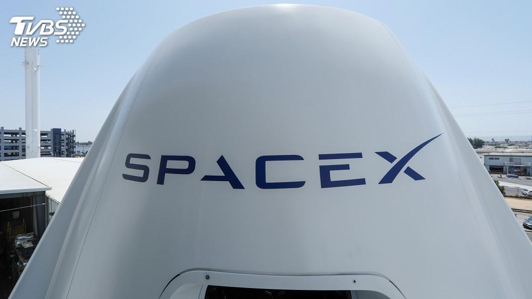 圖/達志影像路透社 美重返爭霸 SpaceX誓言明年送人上太空
