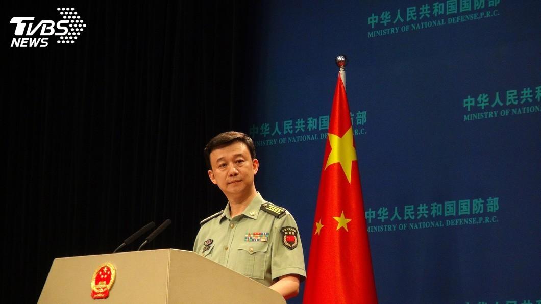 圖/中央社 美國國防授權法生效 中國國防部:已提嚴正交涉