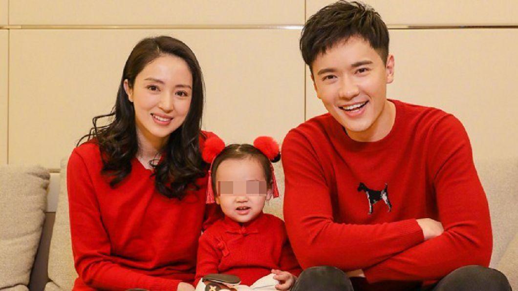 高雲翔與妻子董璇的合照。圖/翻攝自微博