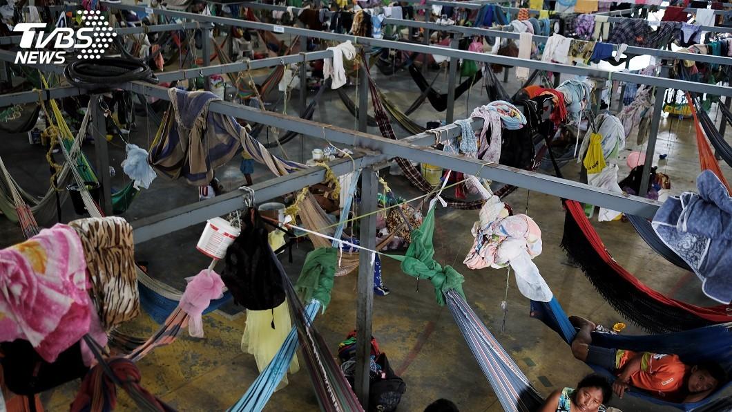 圖/達志影像路透社 委內瑞拉人大量湧入 巴西城市憂負荷不了