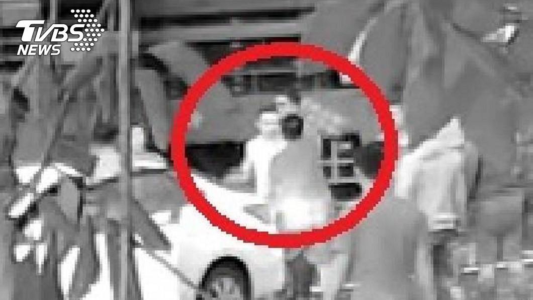 圖/中央社 幫派談判傳槍響 台南警追查逮5男