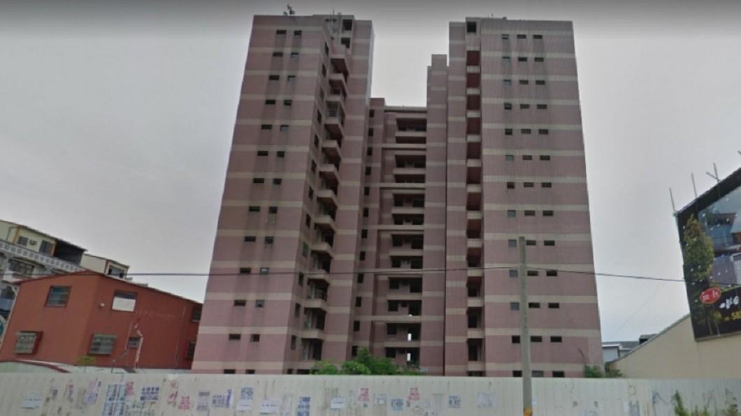 圖/擷取自Google Map 921最後危樓拆除 將蓋警局「鎮壓」