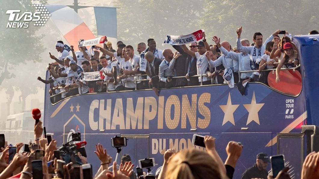 圖/達志影像美聯社 國際足總排名更新 世足賽冠軍法國登榜首