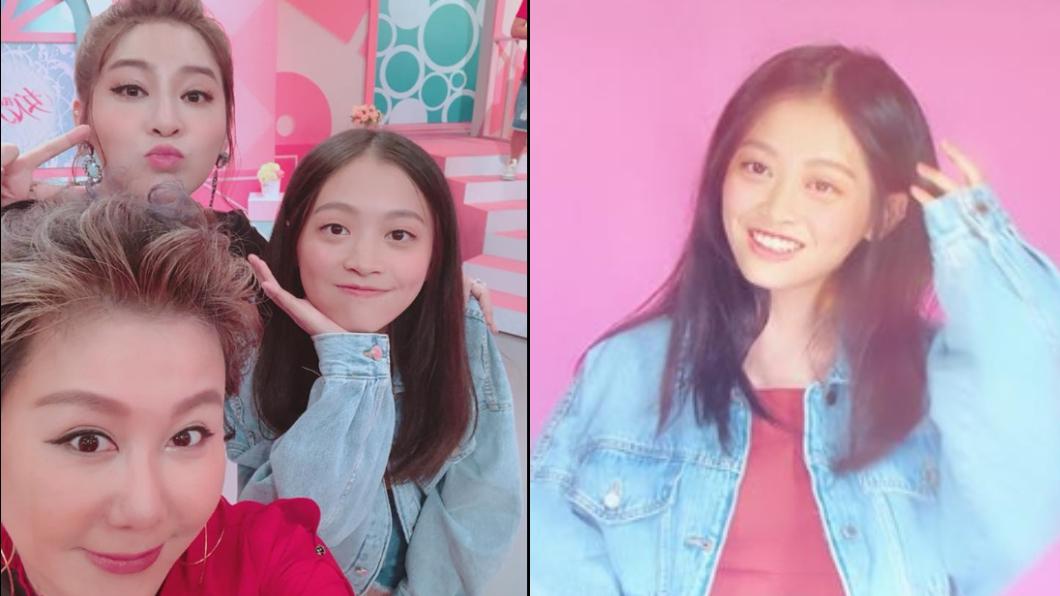 圖/翻攝自王彩樺-台灣濱崎步臉書 14歲大眼正妹吸睛 真實身分是…王彩樺女兒!