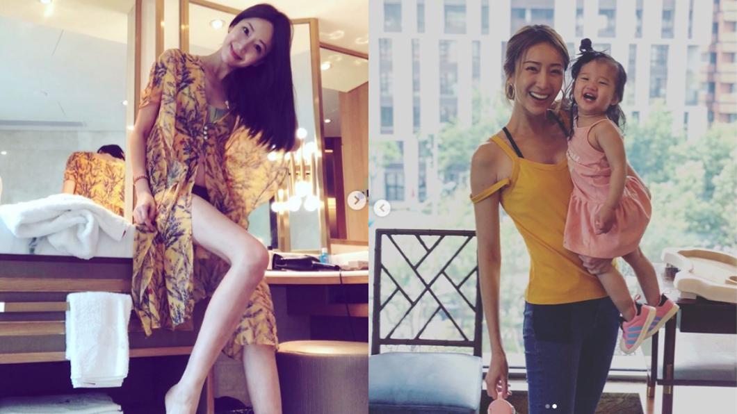 圖/翻攝自隋棠 Sui Tang Instagram 長大不得了!隋棠基因強大 女兒神複製長腿