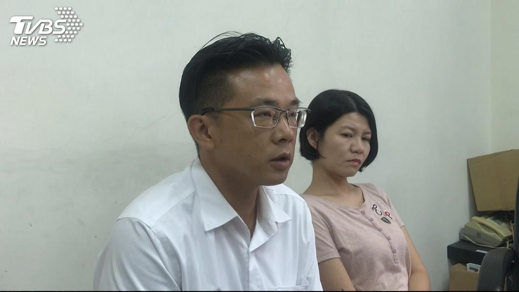黃偉展昨道歉認外遇。圖/TVBS