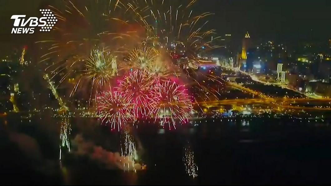 (圖/TVBS資料畫面) 大稻埕煙火晚間登場 周邊道路分階段交通管制