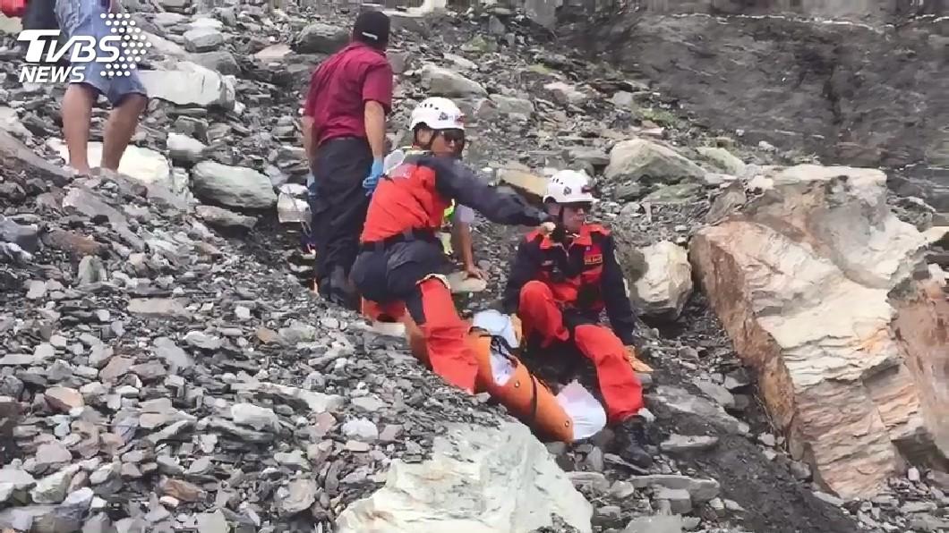 圖/TVBS 工地領班墜落蘇花百公尺深懸崖 不幸身亡