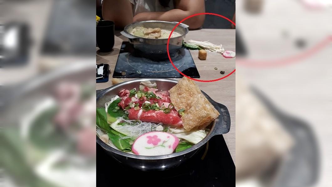 圖/翻攝自爆怨公社臉書 店員漏鍋「5分鐘補上」 奧客刁難「食材飛桌」:氣飽了