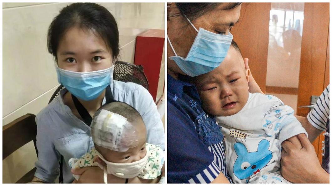 目前孩子兩正在等適合的骨髓移植,希望能有奇蹟發生。(圖/翻攝自陸網)