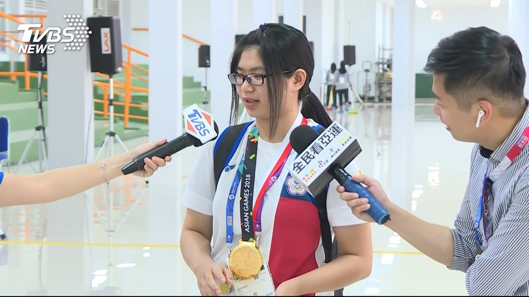 圖/TVBS資料畫面 捷報!林穎欣射擊世界盃鍍銅 收下奧運門票