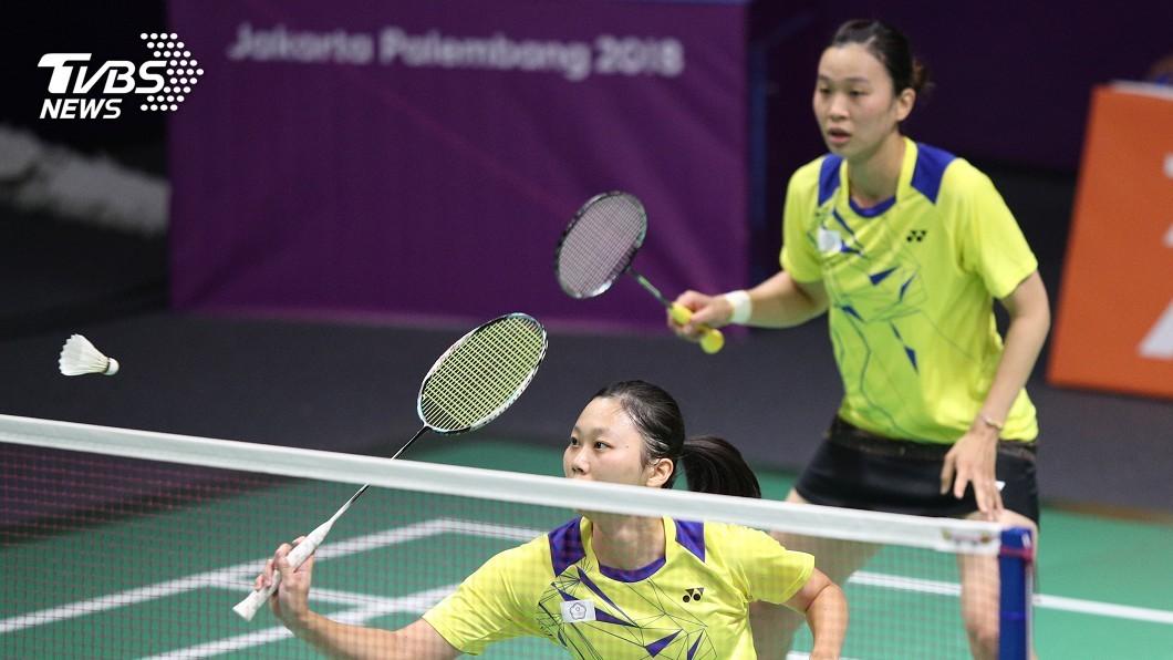 圖/中央社 亞運羽球女團賽 中華隊不敵泰國8強出局