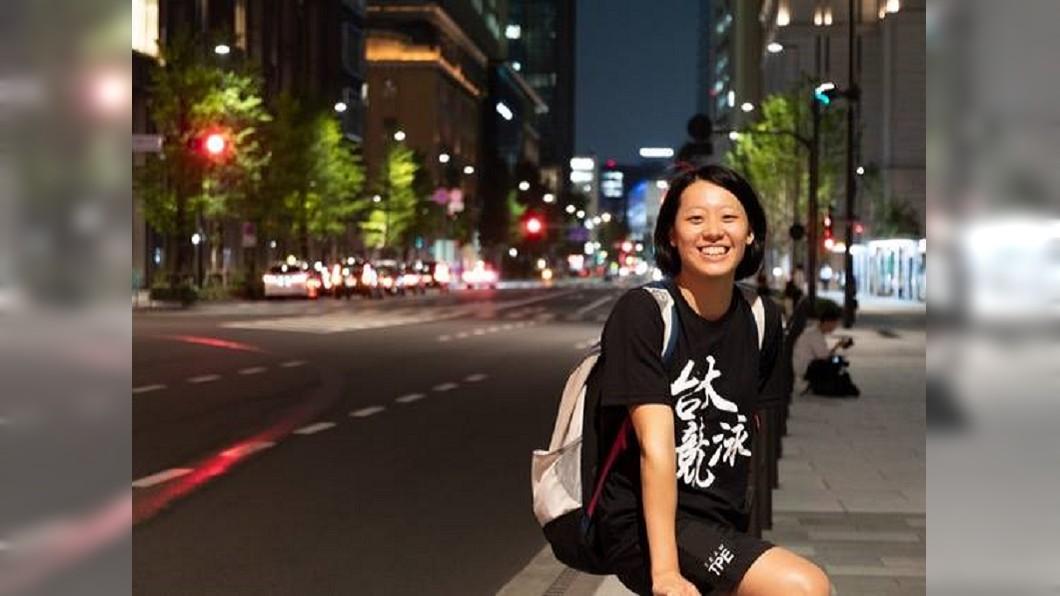 圖/翻攝自國立臺灣大學 National Taiwan University臉書 亞運女子50公尺蝶式 黃渼茜預賽破全國紀錄