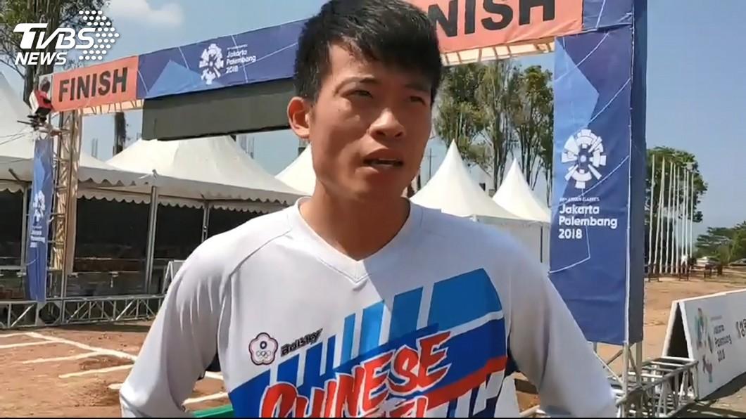 圖/TVBS 僅差1.497秒! 登山車下坡賽江勝山奪銀牌