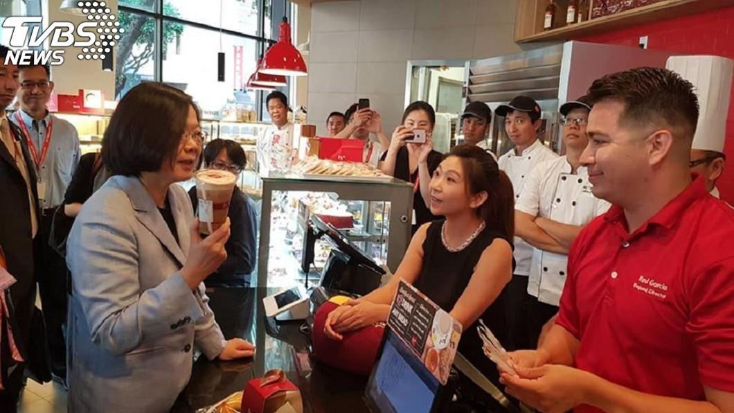 圖/翻攝自游梓翔臉書 蔡英文嘆咖啡走了味 學者批:真正走味的是「維持現狀」