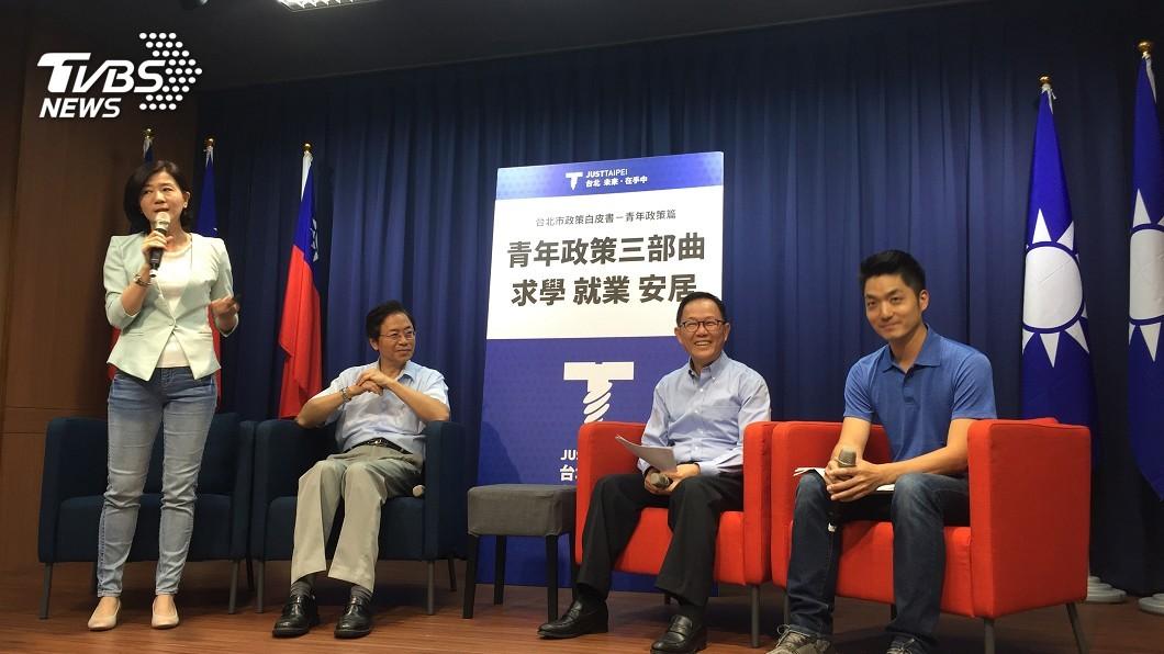 圖/中央社 丁守中推青年政策 規劃設百億元青創基金