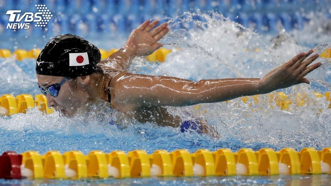 圖/達志影像美聯社 亞運泳賽金牌爭奪戰 日本拿下4面險勝大陸