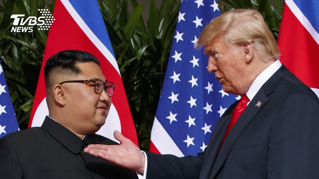 圖/達志影像美聯社 川普再提川金會 青瓦台:盼北韓美國關係進展