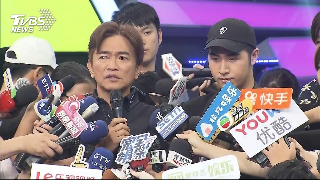 圖/TVBS資料畫面 才說要兒退出演藝圈 鹿希派9日後「再復出」上節目?