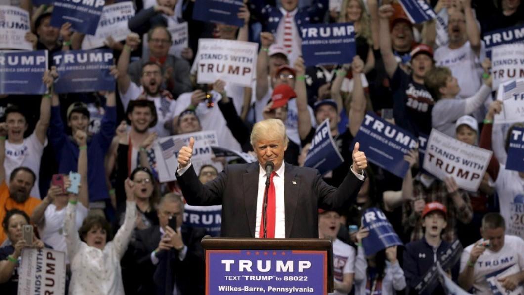 圖/翻攝自Donald J. Trump Twitter 「依照候選人指示付錢」 川普前私人律師認了