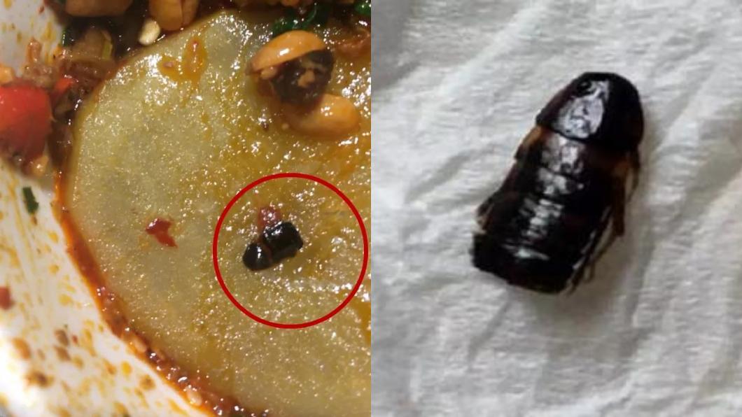 圖/翻攝自微博 醬料有蟑螂她要「450萬賠償」 海底撈分店傻眼報警