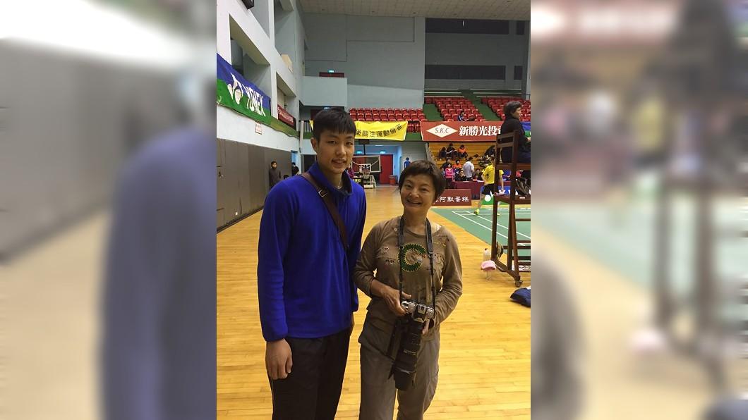 圖/翻攝自Sylvia Hwang臉書 亞運羽球男子團體賽 周天成打敗世界第2