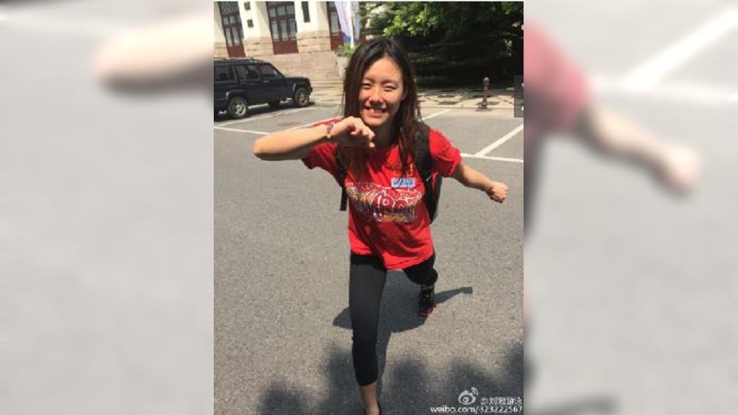 圖/翻攝自劉湘微博 女子50公尺仰式 大陸劉湘破世界紀錄