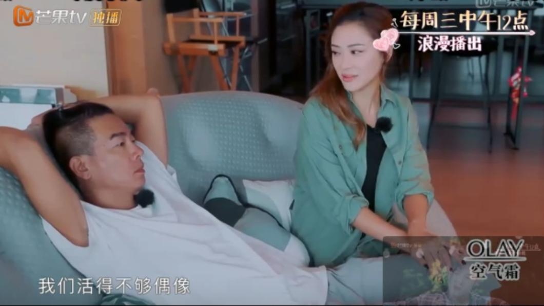 圖/翻攝自芒果TV 應采兒撒嬌求「偶像劇」情節 陳小春冷回:改嫁吧!