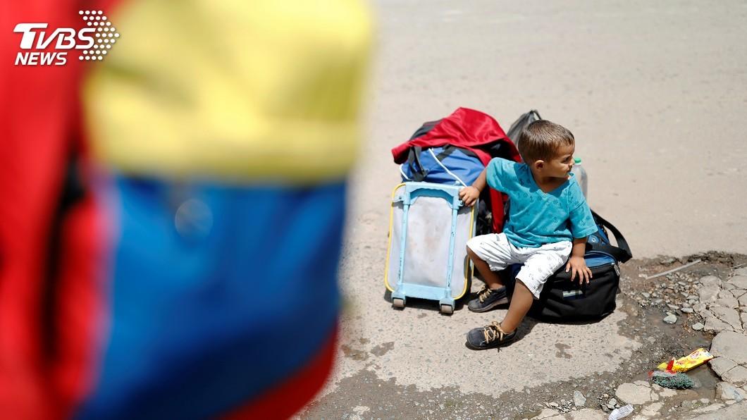 圖/達志影像路透社 委內瑞拉局勢不穩 人口外移問題難解