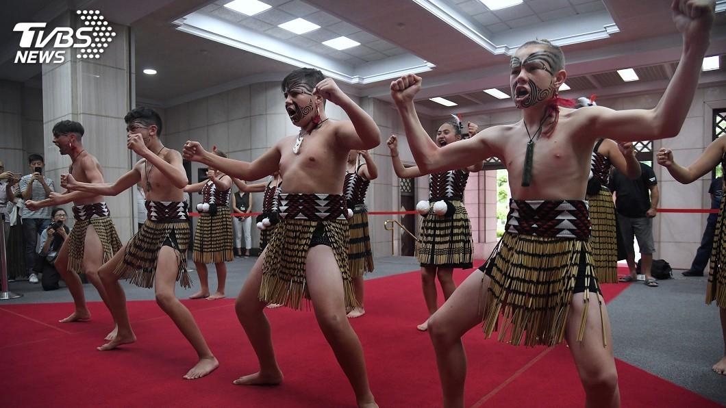 圖/中央社 紐西蘭毛利族部落來台尋根 感謝Kolas促成