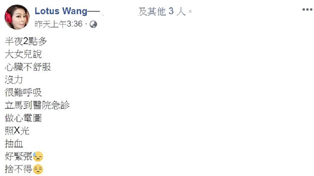 圖/翻攝自王彩樺臉書