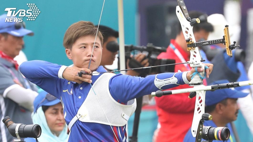 圖/中央社資料畫面 改變帶來成效! 雷千瑩挺進射箭世錦賽金牌戰