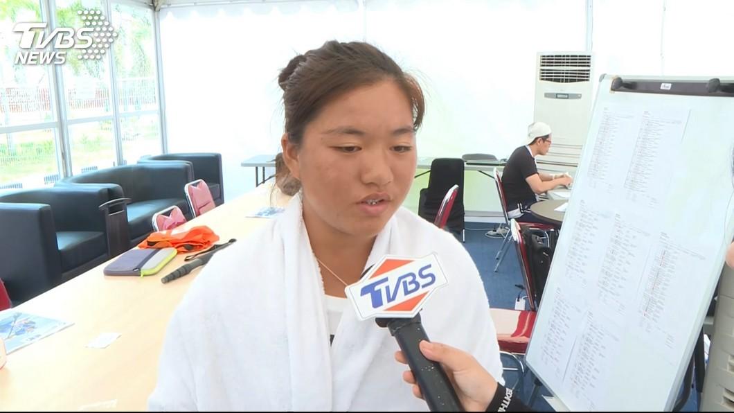 圖/TVBS 僅17歲!網球女單梁恩碩 首屆亞運就奪銅
