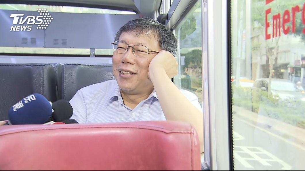 陳佩琪在臉書上回憶,柯文哲曾遭遇的事情。圖/TVBS