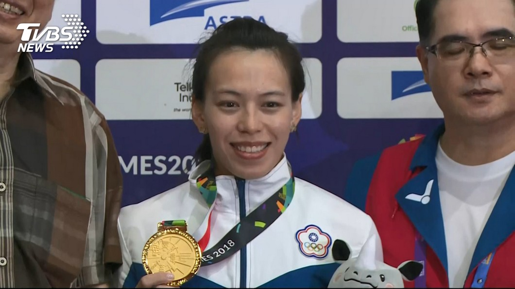 圖/TVBS資料畫面 國際舉重總會最佳女運動員 郭婞淳再度入圍