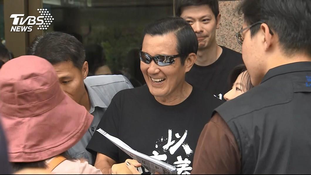 前總統馬英九(中)。圖/TVBS 力挺台灣?白宮關切台薩斷交 馬英九:只是說說而已