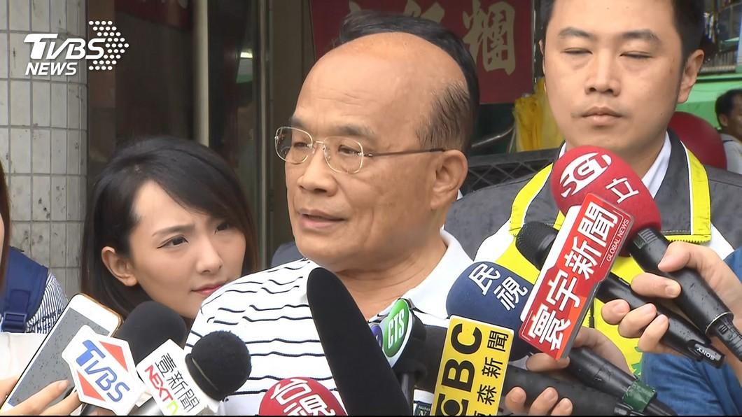圖/TVBS 促轉會議題 蘇貞昌:侯友宜最沒資格講話