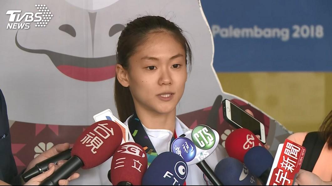 圖/TVBS資料畫面 空手道「小清新」文姿云 確定取得東京奧運門票