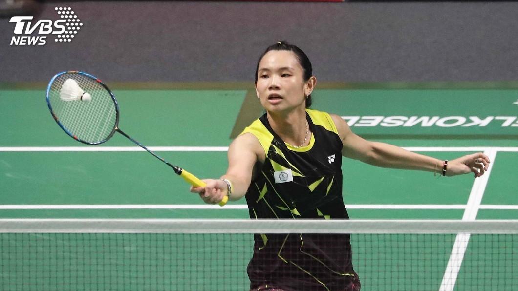 圖/中央社 戴資穎寫紀錄 亞運羽球晉級金牌戰第一人
