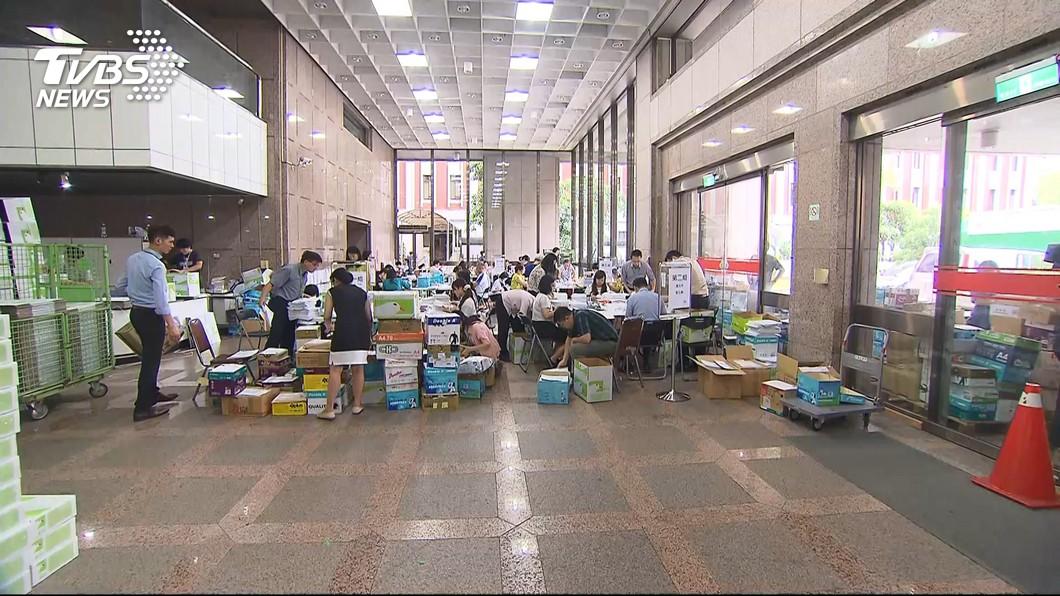 圖/TVBS 國民黨公投提案有「死人連署」 中選會要告