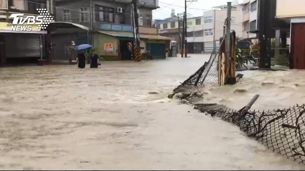 圖/TVBS 檢討823雨災 賴揆指示召開全國治水檢討會議