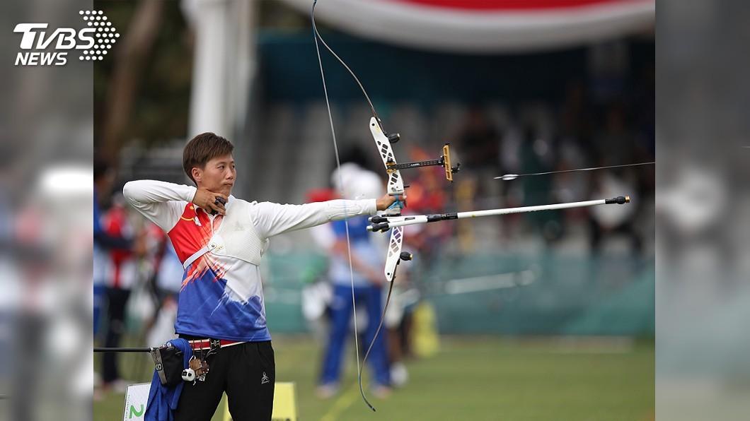 圖/中央社 南韓箭客超水準 雷千瑩與銅牌擦身而過