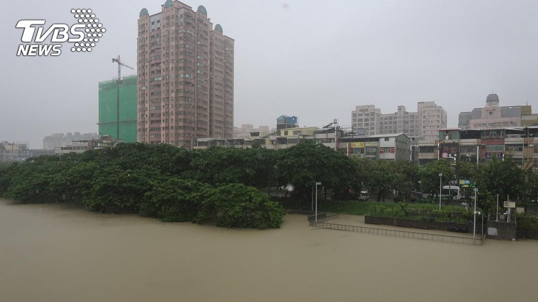 圖/中央社 豪雨釀災 經濟部:盡快提檢討報告
