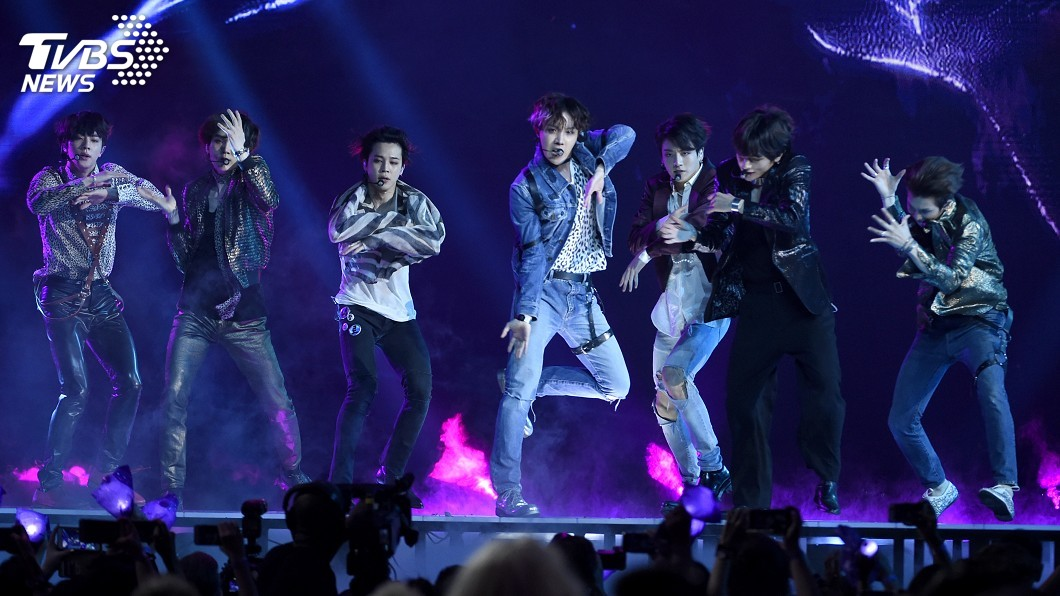 圖/達志影像美聯社 超越泰勒絲 BTS新歌MV首日點閱破4500萬