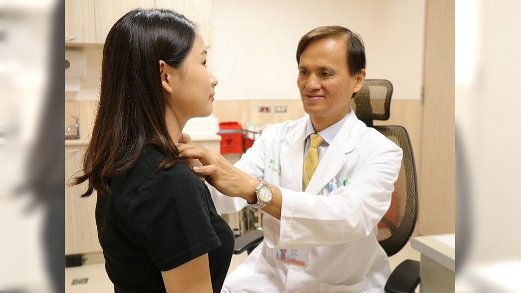 圖/亞洲大學附屬醫院 減重有成好開心 女大生竟罹患「沉默癌症」