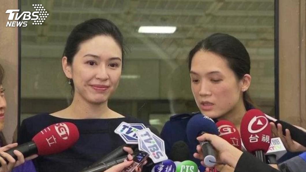 連勝文妻子蔡依珊(左)和連詠心(右)。圖/TVBS資料畫面 連家有喜!連詠心9月辦海外婚禮 新郎是英藝術家