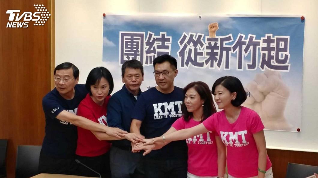 圖/中央社 林為洲宣布退選 國民黨:感謝黨籍人士協調